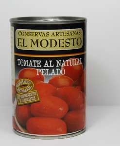 Conservas Artesanas el Modesto-Tomate de pera al natural bote 1/2Kg